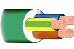 MIGUELEZ CABLE VULC. AFIRENAS-X RZ1-K 0.6/1KV 3G25MM2 VERDE