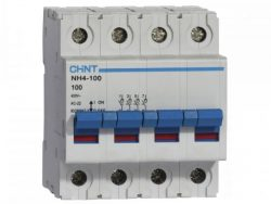 CHNT TERMCIO DZ158 3P 125A 10KA P/RIEL DIN CURVA C 240/415V