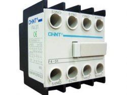 CHINT BLOCK CONTACTO FRONTAL 1(NC1-9 A NC1-95) LATERAL 2(NC2-115-A NC2-630) 1NA + 1NC