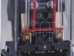 CHINT RELE ENCAPSUL.CIRCULAR 8P 24V DC 10A (6V 220V;6V 380V) CE,UL