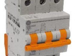 G.E.TERMICO T/RIEL 3P 10A NARANJA 10KA 230/400V DMS